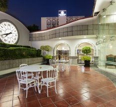 Jardin Hôtel Krystal Satélite María Bárbara Tlalnepantla de Baz